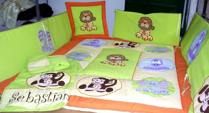 Ajuares de Cuna Para Bebes Niños Perú Ajuar de Cuna Para Bebe Niña ...